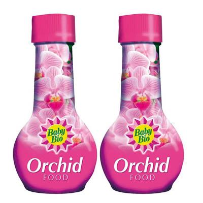 2 x BABY Bio Engrais pour orchidée Nourriture Engrais 175 ml