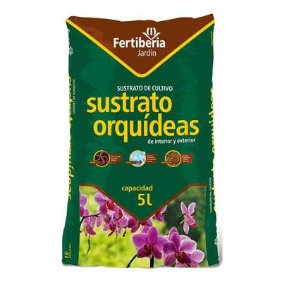 Substrat pour orchidées 5L intérieur et extérieur