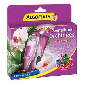 ALGOFLASH Monodose Revitalisante Fleurs de Balcons et Terrasses, 5 doses, MONORCHID