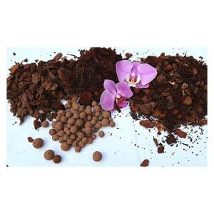 Terre à orchidée, Substrat Orchidée Phalaenopsis Terre, Mélange spécial de qualité supérieure 5 l